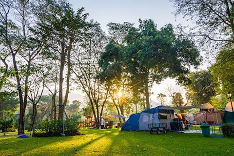Camping Caravan Stellplätze