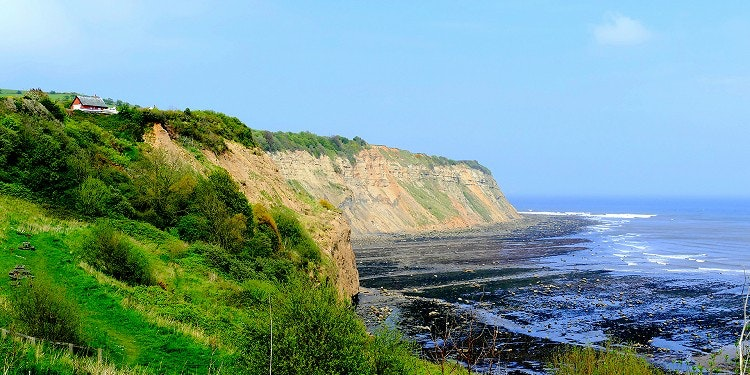 Circular Walk From Robin Hood's Bay to Bay Ness via The Cinder Track and The Cleveland Way